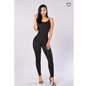 NWOT Fashion Nova Jumpsuit in Black